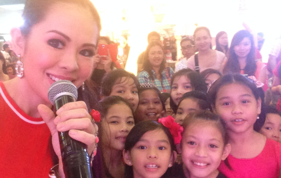 Barbie Girls Unite! Marylaine Viernes leads the pack of Barbie Princesses in today's Pinktastic Event!