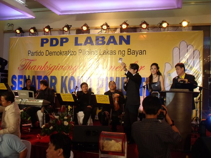 KOKO PIMENTEL VICTORY PARTY