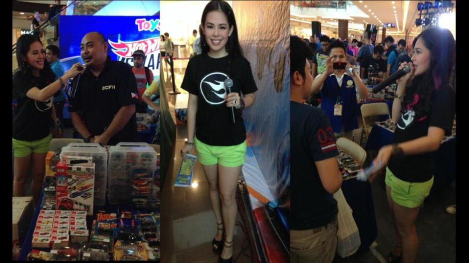 MARY LOUISE VIERNES HOT WHEELS RACE EVENT