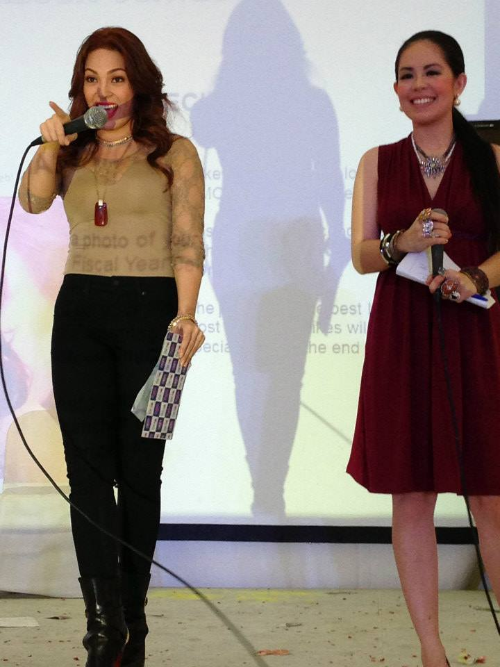 MARY LOUISE VIERNES WITH KC CONCEPCION