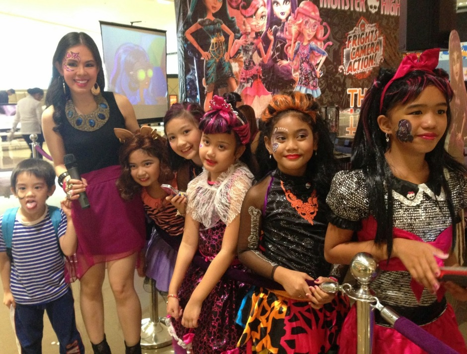 MARYLAINE VIERNES FOR MONSTER HIGH EVENT