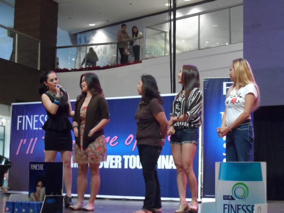 MARYLAINE LOUISE VIERNES HOSTS FOR FINESSE EVENT