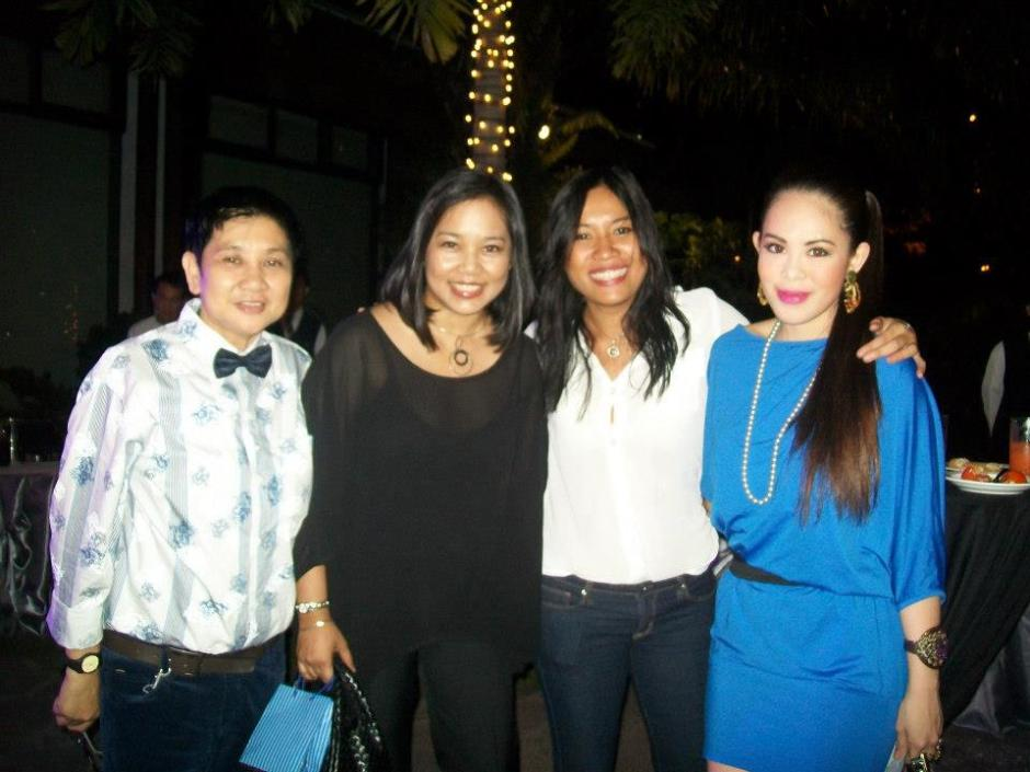 MARYLAINE LOUISE VIERNES WITH LEE GRANE AND BOGEE ROMERO