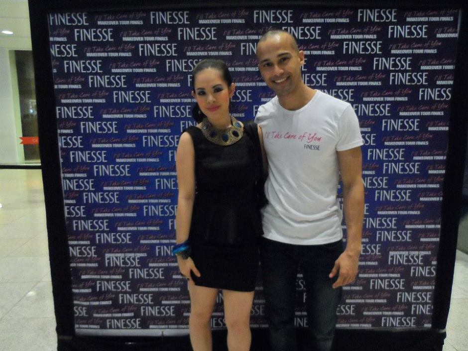 MARYLAINE VIERNES AND WILL DEVAUGHN FOR FINESSE