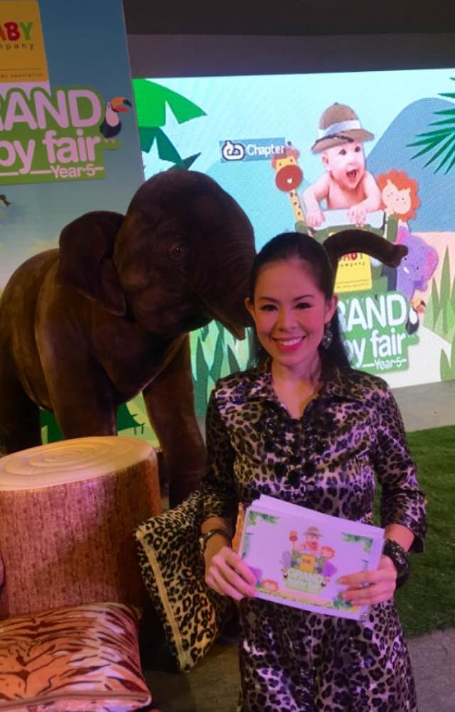 MARYLAINE VIERNES BABY ELEPHANT - EVENT HOST