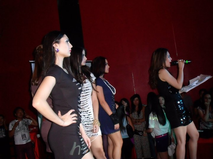 MARYLAINE VIERNES - DRESS IN MANILA FASHION SHOW