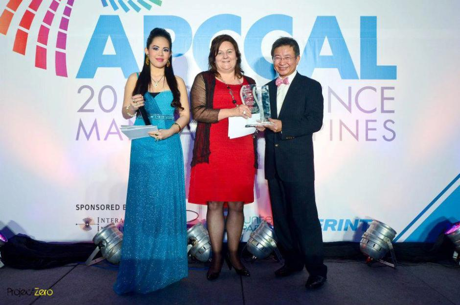 MARYLAINE VIERNES FOR APCCAL CONFERENCE