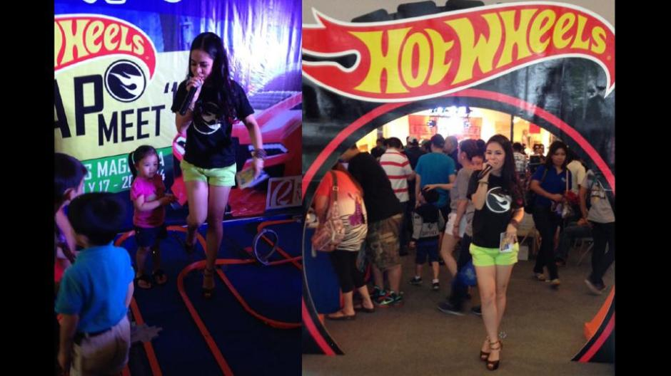 MARYLAINE VIERNES FOR HOT WHEELS EVENT