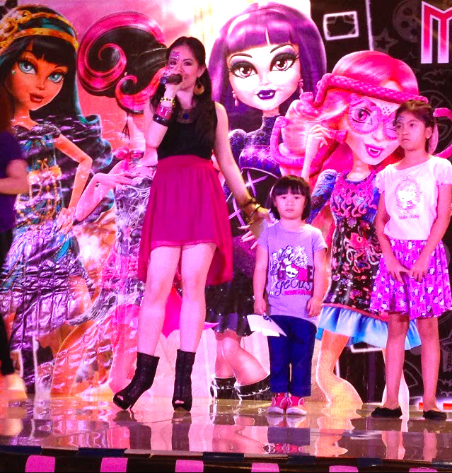 MARYLAINE VIERNES FOR MONSTER HIGH AT SM AURA