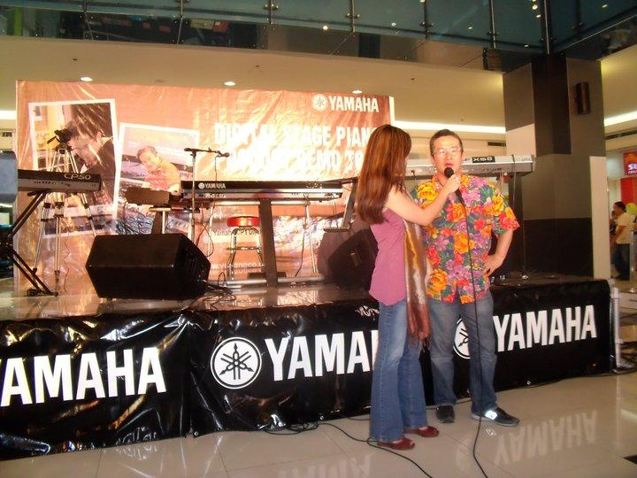 MARYLAINE VIERNES FOR YAMAHA TOUR
