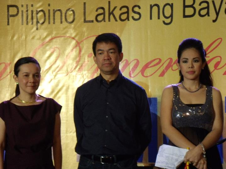 MARYLAINE VIERNES KOKO PIMENTEL AND GRACE POE
