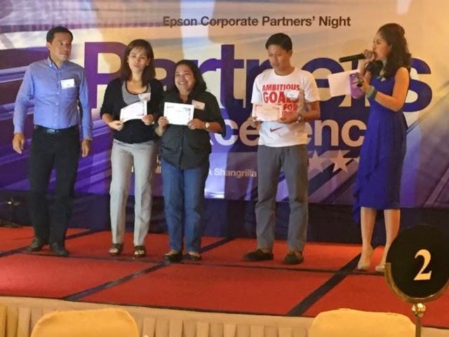 MARYLAINE VIERNES EPSON HOSTING PHILIPPINES