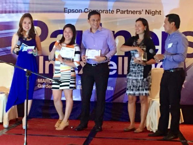 MARYLAINE VIERNES FOR EPSON EVENT