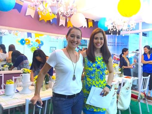MARYLAINE VIERNES with Blogger Michelle Aventajado