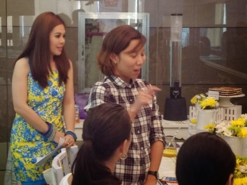 MARYLAINE VIERNES with Mom Bloggers