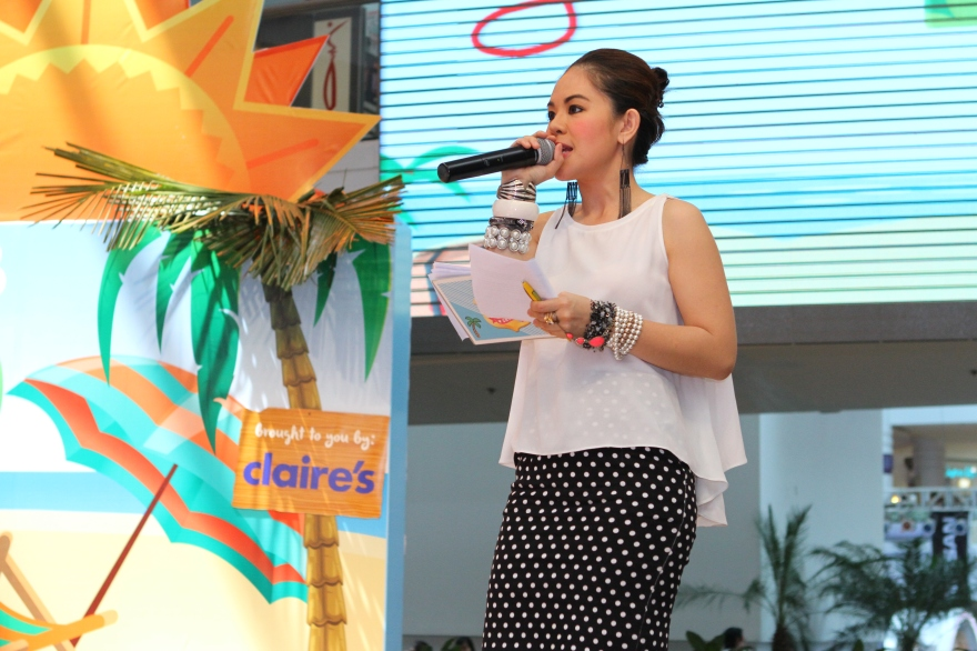 MARYLAINE - MARYLAINE VIERNES HOSTS TOTAL GIRL EVENT
