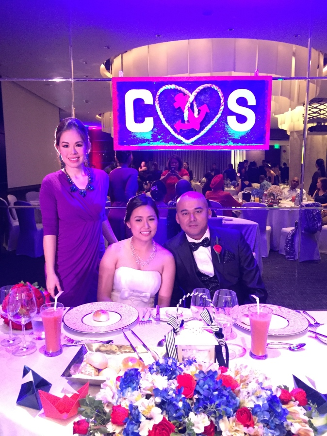 MARYLAINE VIERNES FOR CHA AND STEVEN WEDDING EVENT