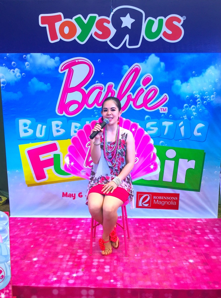 Barbie Bubble Event Host MARYLAINE VIERNES BARBIE PHILIPPINES OFFICIAL HOST