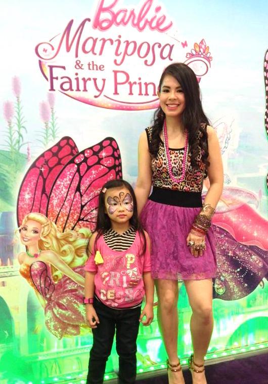 Barbie Day 2 - Marylaine Viernes Barbie Mariposa