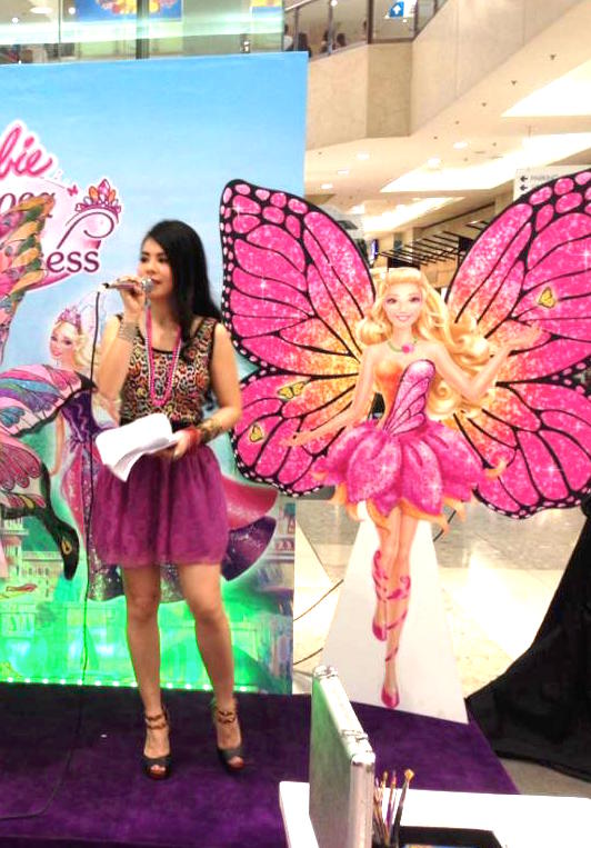 Barbie Day 2 - Marylaine Viernes Mariposa