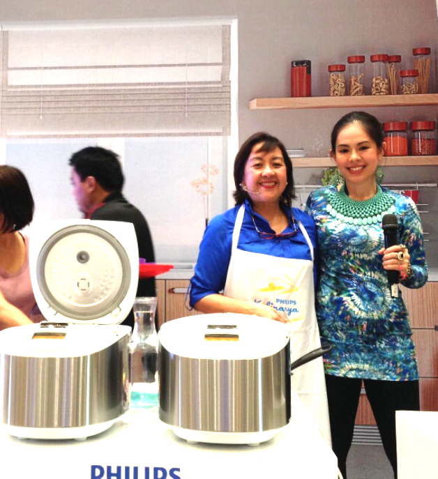 COOK OFF BY PHILIPS - MARYLAINE VIERNES WITH NANCY LUMEN