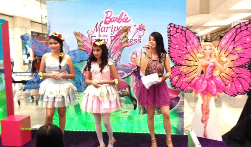 DAY 2 - Mary as Barbie Mariposa