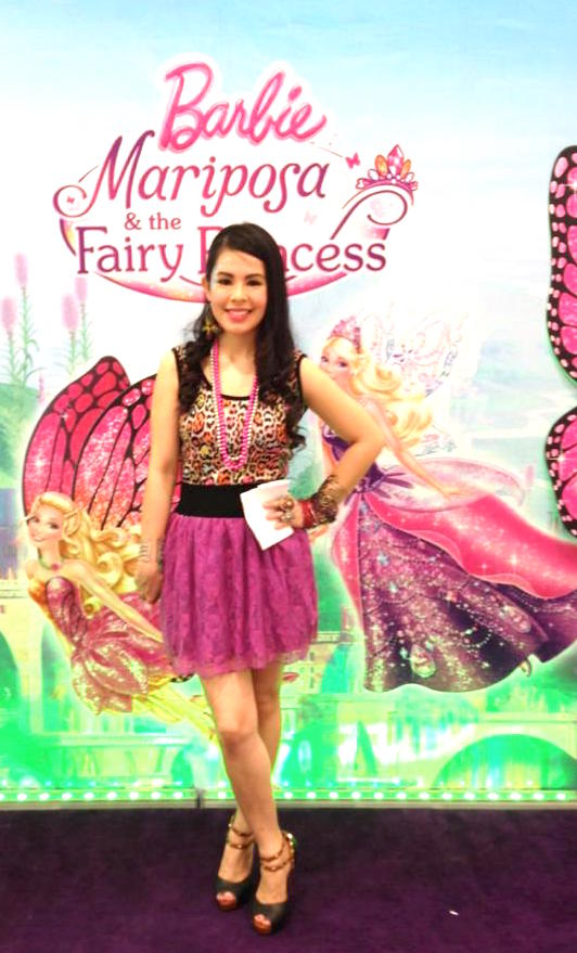 Day 2 - Mary Viernes as Barbie Mariposa