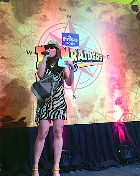 FRISO Event at the Podium - Marylaine Louise Viernes