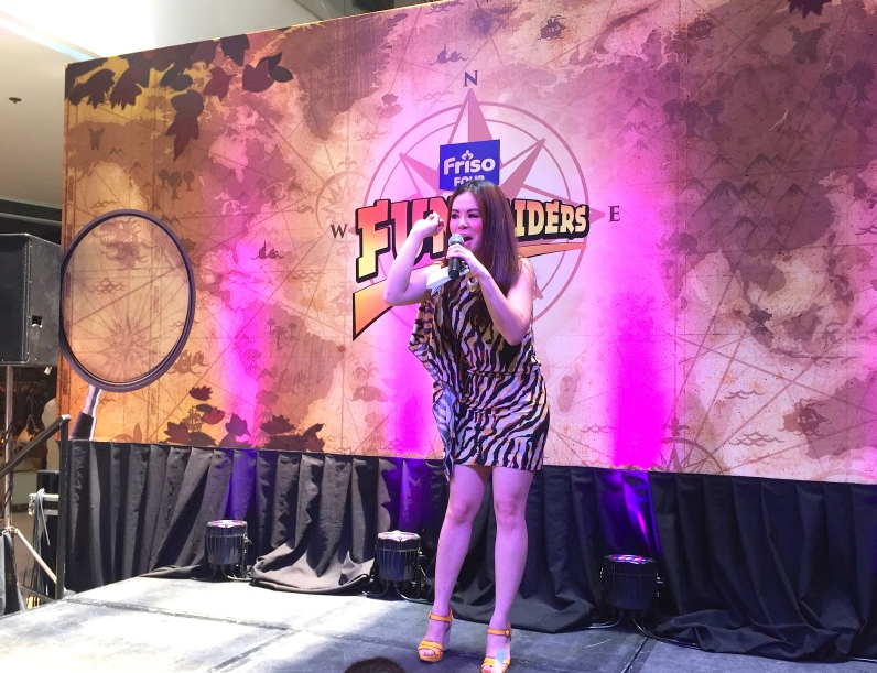 Friso Fun Raiders Event Host MARYLAINE VIERNES