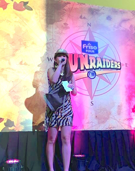 FRISO FUN RAIDERS HOST MARY LOUISE VIERNES
