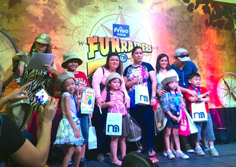 FRISO FUN RAIDERS WITH MARYLAINE VIERNES EVENT HOST