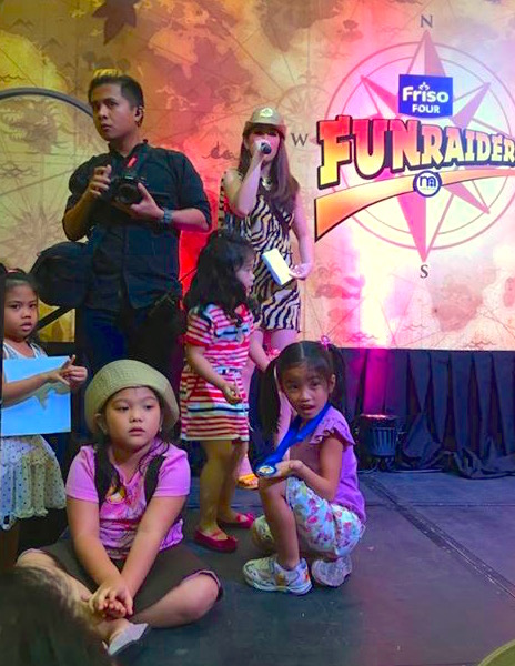 FRISO KIDS WITH MARYLAINE LOUISE VIERNES