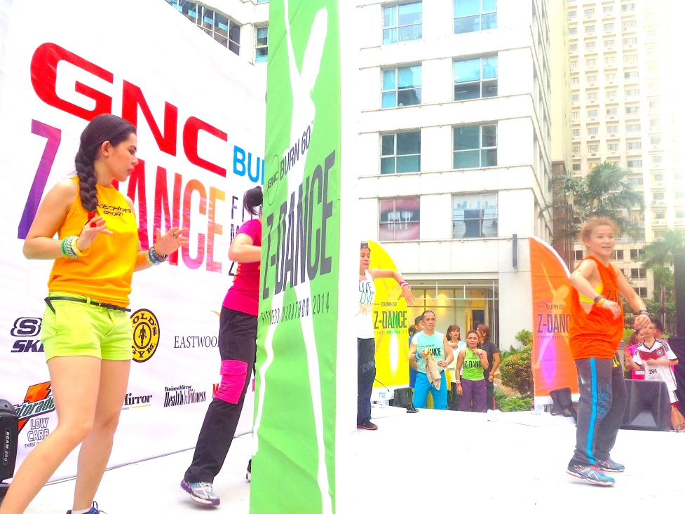 GNC HOST MARYLAINE VIERNES AT THE GNC ZDANCE EVENT