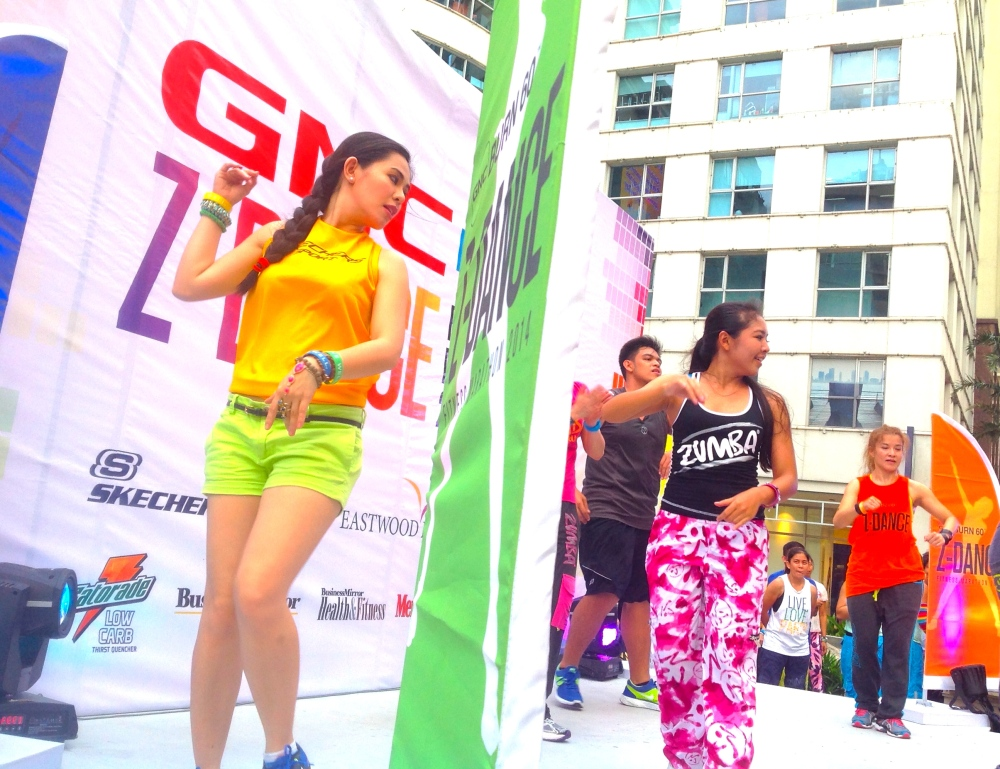 GNC Z DANCE EVENT HOST MARYLAINE VIERNES