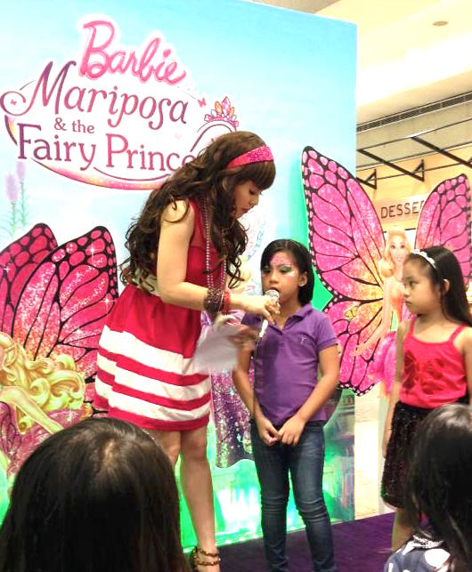 MARY VIERNES AS BARBIE MARIPOSA