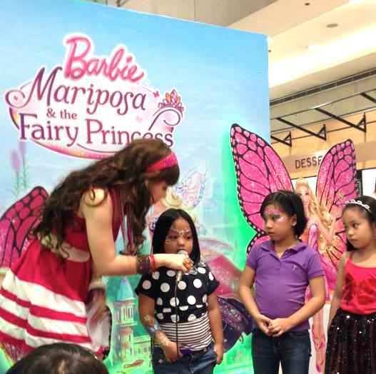 MARYLAINE LOUISE VIERNES AS BARBIE MARIPOSA