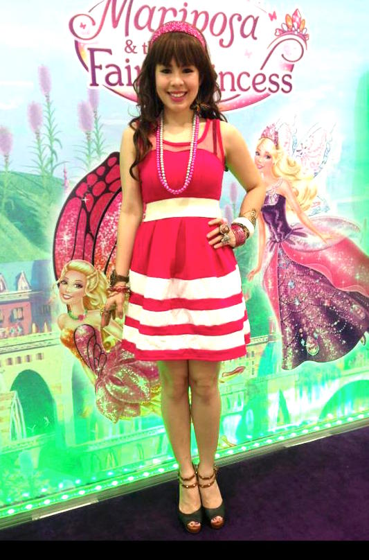 MARYLAINE VIERNES - Barbie event for barbie Mariposa