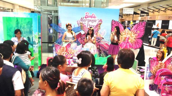 Marylaine Viernes Day 2 of the BARBIE MARIPOSA EVENT