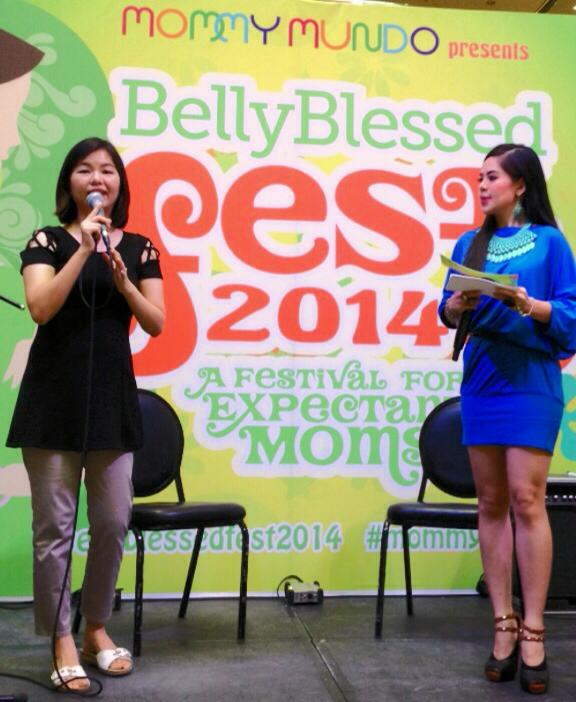 MARYLAINE VIERNES EMCEES BELLY BLESSED