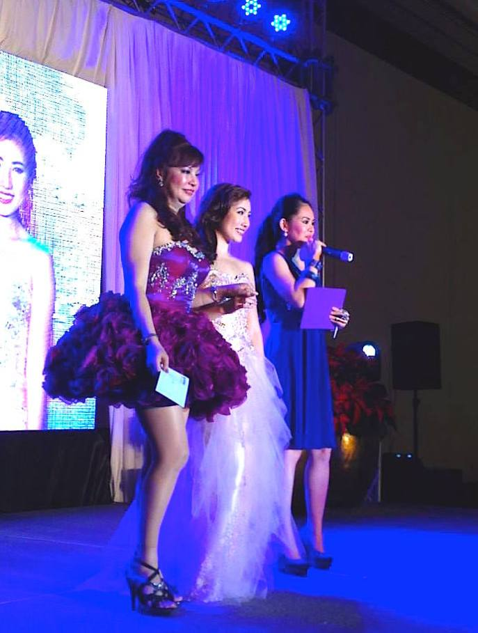Marylaine Viernes emcees for Prettylooks event