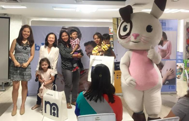 MARYLAINE VIERNES FOR MOTHERCARE HOSTING 3