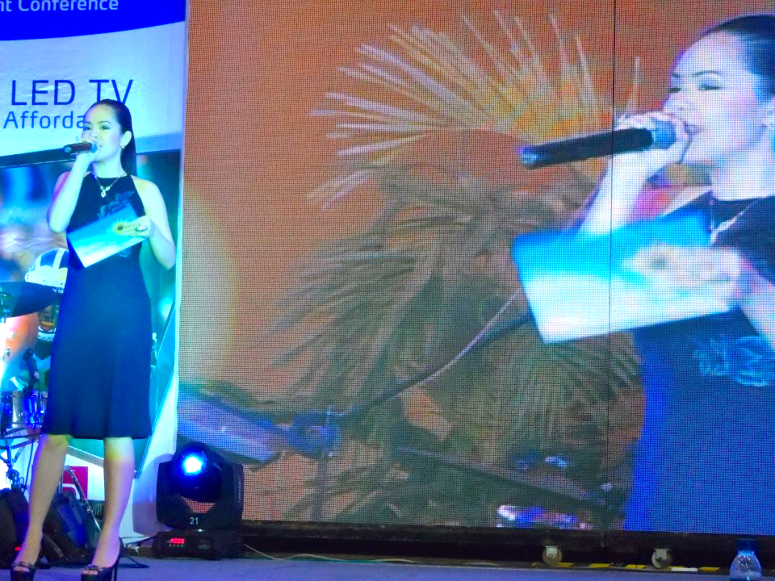 Skyworth Event hosted by Marylaine Louise Viernes