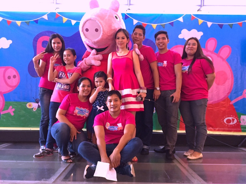 Mary Peppa Pig Team