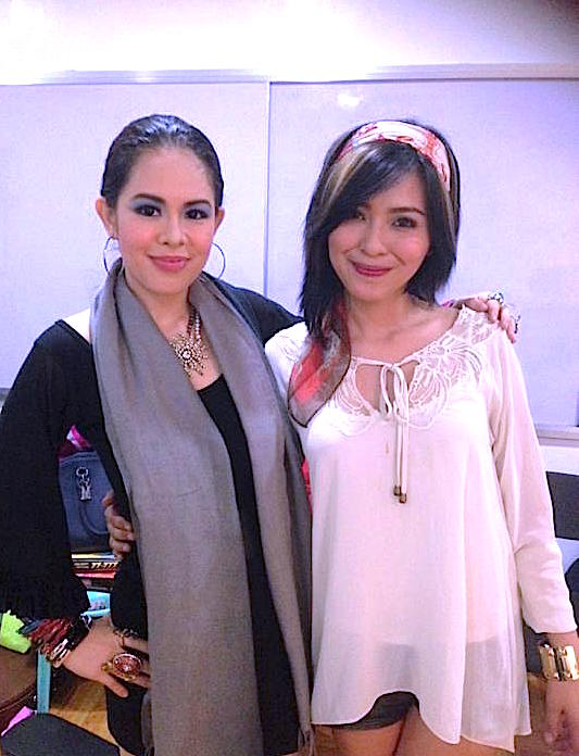 MARY WITH JOYCE PRING