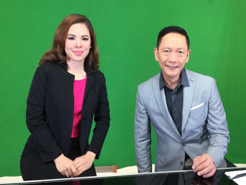 MARY WITH THE AMAZING FRANCIS J KONG