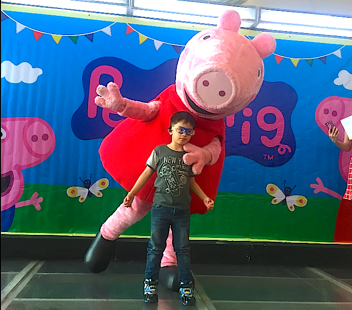 MARYLAINE VIERNES First Day Peppa Pig