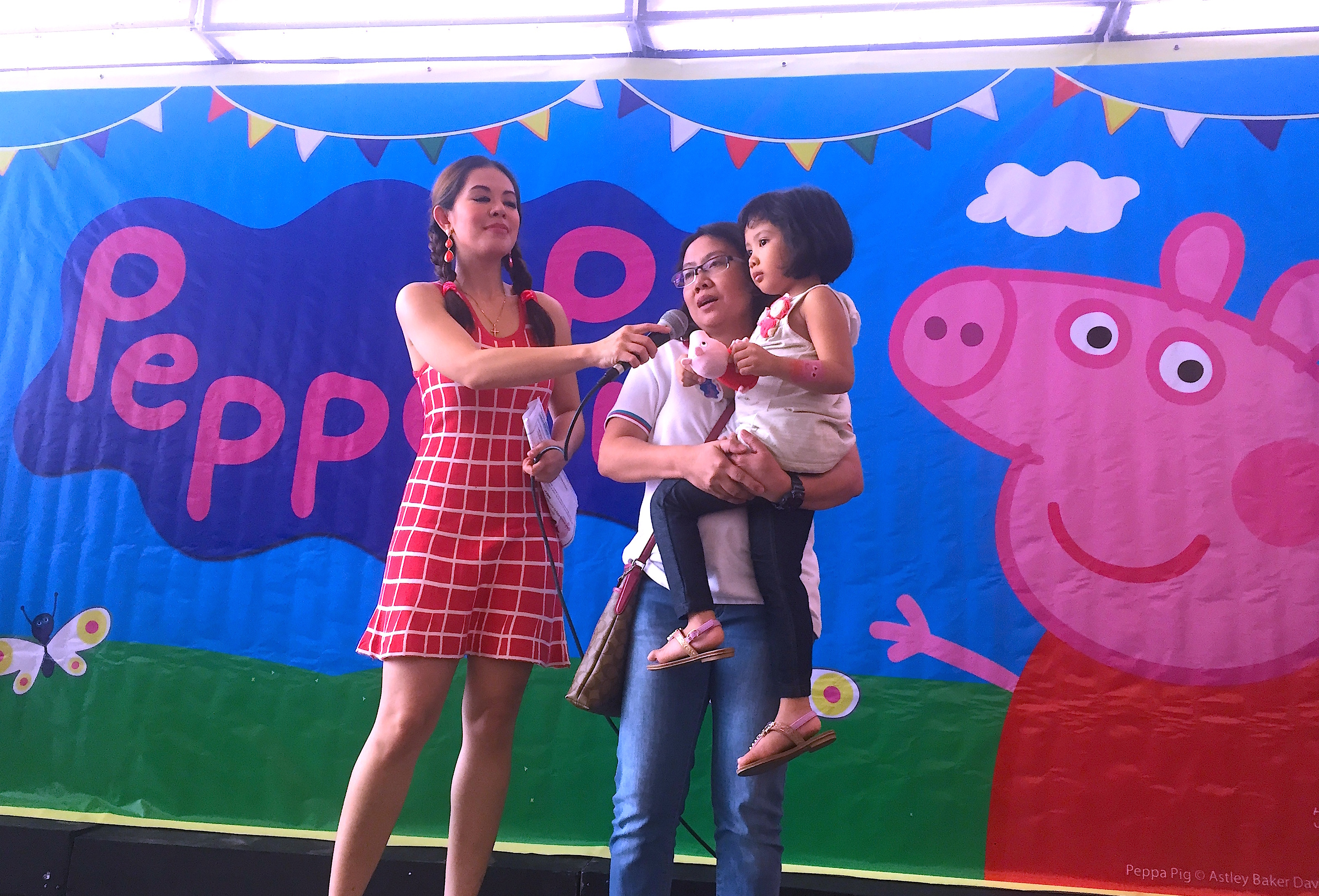 Marylaine Viernes For The Peppa Pig Meet Greet Party Day 1
