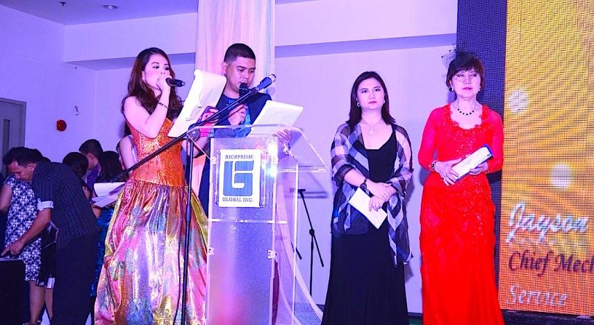 MARYLAINE VIERNES WITH JENNY AND MYRNA YAO
