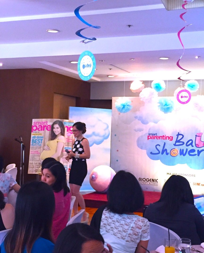 BABY SHOWER SMART PARENTING MARYLAINE VIERNES