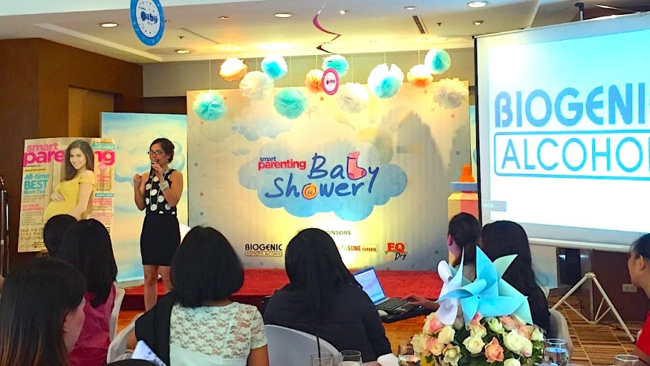 MARY VIERNES FOR SMART PARENTING BABY SHOWER